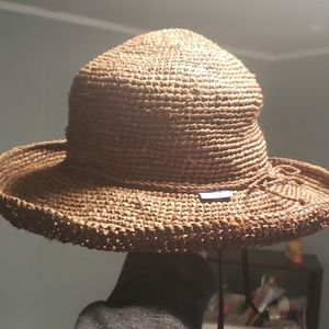 Wallaroo Hat Company Brown Hat o/s NWOT